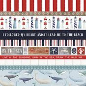 Border Strips Paper - By The Sea - Carta Bella