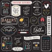 Kitchen Rules Paper - Farmhouse Kitchen - Echo Park