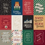 3 x 4 Journaling Cards Paper - Witches & Wizards - Echo Park - PRE ORDER