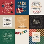 4 x 4 Journaling Cards Paper - Witches & Wizards - Echo Park - PRE ORDER