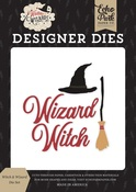 Witch & Wizard Die Set - Echo Park