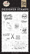 Sent By Air Stamp Set - Echo Park