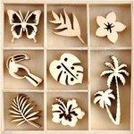 Sunkissed Mini Wood Embellishments - Kaisercraft
