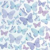 Flutter Paper - Amethyst - Kaisercraft - PRE ORDER