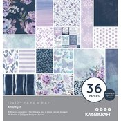"Amethyst 12""X12"" Specialty Paper Pad - Kaisercraft - PRE ORDER"
