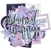 Amethyst Collectables Cardstock Die-Cuts - Kaisercraft