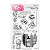 Supermom! Simon Hurley Create Clear Stamps