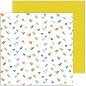 Kind Hearts Paper - Lets Stay Home - Pinkfresh Studio