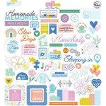 Lets Stay Home Ephemera Pack - Pinkfresh Studio