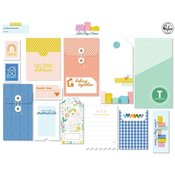 Let's Stay Home Journaling Bits - Pinkfresh Studio - PRE ORDER