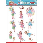 Party Time Punchout Sheet - Bubbly Girls Party - Find It Trading