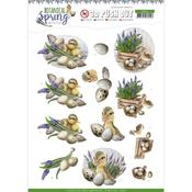 Happy Ducks Punchout Sheet - Botanical Spring - Find It Trading