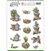 Spring Arrangement Punchout Sheet - Botanical Spring - Find It Trading