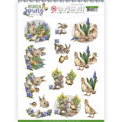 Best Friends Punchout Sheet - Botanical Spring - Find It Trading