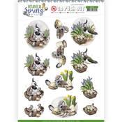 Lapwing Punchout Sheet - Botanical Spring - Find It Trading