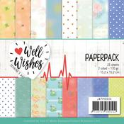 """Well Wishes 6""""X6"""" Paper Pack - Find It Trading"""