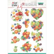Fruits Punchout Sheet - Well Wishes - Find It Trading