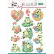 Frogs Punchout Sheet - Well Wishes - Find It Trading
