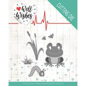 Smiling Frog Die - Well Wishes - Find It Trading - PRE ORDER