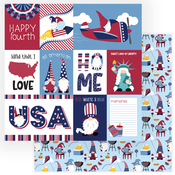 All American Paper - Gnome For July 4th - Photoplay