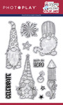 Gnome For July 4th 4x6 Stamp - Photoplay - PRE ORDER