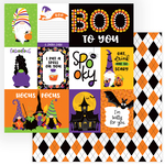 Spooky Paper - Gnome For Halloween - Photoplay - PRE ORDER
