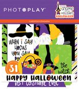 Gnome for Halloween Ephemera - Photoplay