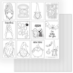 Gnome For Halloween Color Me Sheet - Photoplay - PRE ORDER