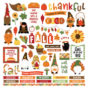Gnome For Thanksgiving Element Sticker - Photoplay