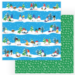 Ski Slopes Paper - Gnome For Christmas - Photoplay - PRE ORDER