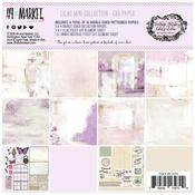"Vintage Artistry Lilac 6""X6"" Collection Pack - 49 And Market"