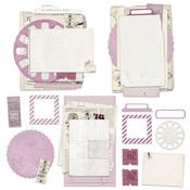 Vintage Artistry Lilac Collage Stack - 49 And Market
