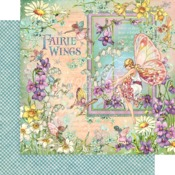 Fairie Wings Paper - Fairie Wings - Graphic 45