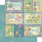 Rainbow Sparkle Paper - Fairie Wings - Graphic 45