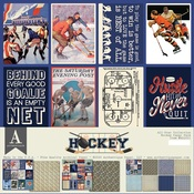 Hockey Paper Pack - All-Star - Authentique