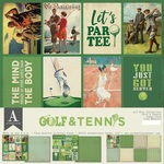 Golf & Tennis Paper Pack - All-Star - Authentique