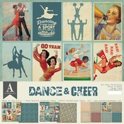 Dance & Cheer Paper Pack - All-Star - Authentique