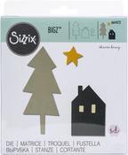 Nordic Scene - Sizzix Bigz Die By Sharon Drury