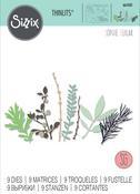 Hidden Leaves - Sizzix Thinlits Dies By Sophie Guilar 9/Pkg