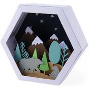 Box-Winter Scene-Sizzix Thinlits Dies By Jessica Scott 28/Pkg