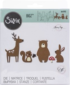 Forest Friends - Sizzix Bigz Die By Olivia Rose