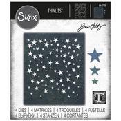 Falling Stars - Sizzix Thinlits Dies By Tim Holtz