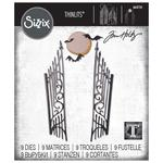 Gate Keeper - Sizzix Thinlits Dies By Tim Holtz