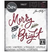 Merry & Bright-Sizzix Thinlits Dies By Tim Holtz
