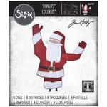 Papercut Christmas #1 Colorize - Sizzix Thinlits Dies By Tim Holtz