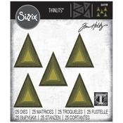 Stacked Tiles Triangles - Sizzix Thinlits Dies By Tim Holtz