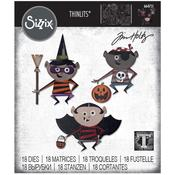 Trick Or Treater - Sizzix Thinlits Dies By Tim Holtz