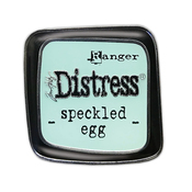 Speckled Egg Distress Enamel Collector Pin - Tim Holtz