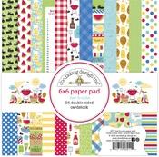 Bar-B-Cute 6 x 6 Paper Pad - Doodlebug - PRE ORDER