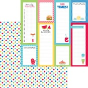 Picnic Spot Paper - Bar-B-Cute - Doodlebug